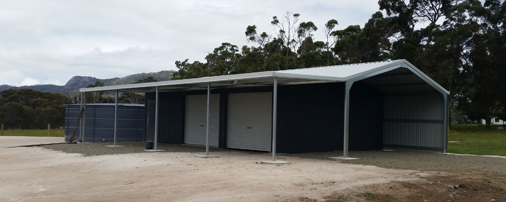 With one of Australia's largest range of sheds covering everything from the backyard workshop through to massive industrial sheds and equestrian centres, Ranbuild Great Southern is bound to have the perfect shed for you.