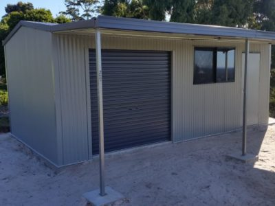 Awesome Garden Shed with Verandah 3.5m x 6.5m x 2.4m (3)