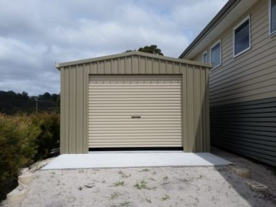 Extra Storage and small workshop 4m x 6m x 2.4m