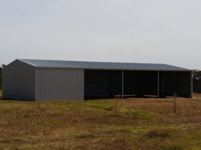 Farm machinery and Equipment storage 9m x 18m x 3m in Zincalume (1)