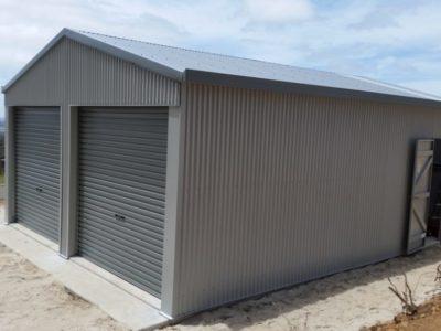 Gable Sundowner Delexe Garage 6m x 8m x 2.7m (2)