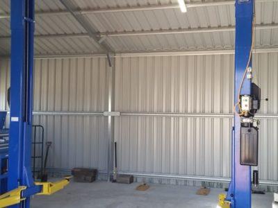 Gable Workshop with Hoist 8m x 8m x 3m (1)