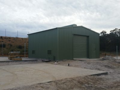 Industrial Water Pump Sheds (2)