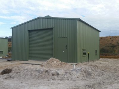 Industrial Water Pump Sheds (4)