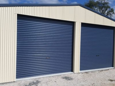 Residential Garage Workshop 8m x 8m x 3m (1)